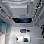 Изготовлена мебель для машин скорой помощи