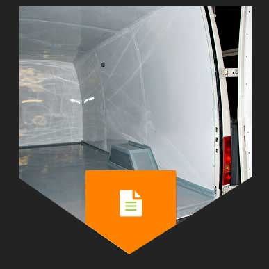 Thermal insulation of vans