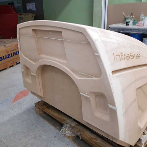 Fiberglass products for medical offices and SPA salons